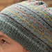 Dots and Lines Hat pattern