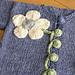 Flower Cardigan and Hat Set pattern