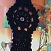 Crochet Goth Gypsy Bracelet pattern
