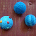 Felted Bouncy Balls pattern