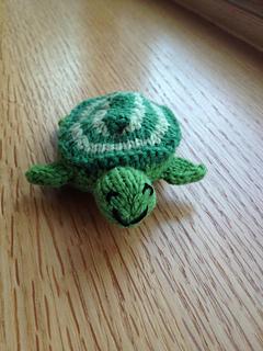 Turtle knitting pattern Tenacious Turtle