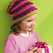 Striped & Bobbled Hat pattern