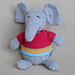 Wee Ones Seamless Knit Toys pattern