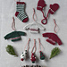 Holiday Charm Set pattern