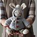 Christopher Bunny's Garter Hoodie + Tiny Bunny pattern
