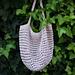 2 hooks string bag pattern