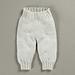 Bukser i glatstrik pattern