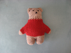 colin's bear - front