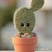 Hipster Cactus pattern