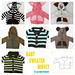 Baby Sweater Buffet pattern