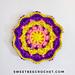 Sunny Day Mini Mandala pattern