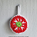 Festive Holiday Bauble pattern