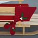 Holly Bobble Bonnet & Mitten Christmas Set pattern