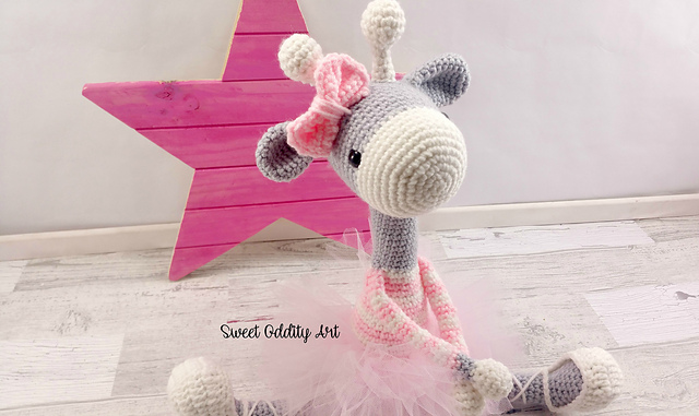 32 Free Crochet Giraffe Amigurumi Patterns ⋆ DIY Crafts | 381x640