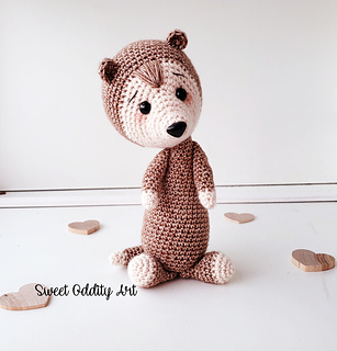 Little Ferret | Free Amigurumi Patterns | Bloglovin' | 320x307