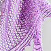 Meandering Pathway Shawl pattern