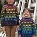 Rainbow Heart Sweater pattern