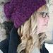 Blackberry Slouch Hat pattern
