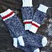 On The Rocks Boot Socks & Wristies pattern