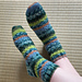 Osterspaziergang Socks pattern
