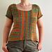 Summertime Garter Stitch Top pattern