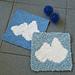 Wölkchen Washcloth pattern