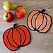 Pumpkin Potholders pattern