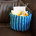 Sideways Garter Stitch Basket pattern