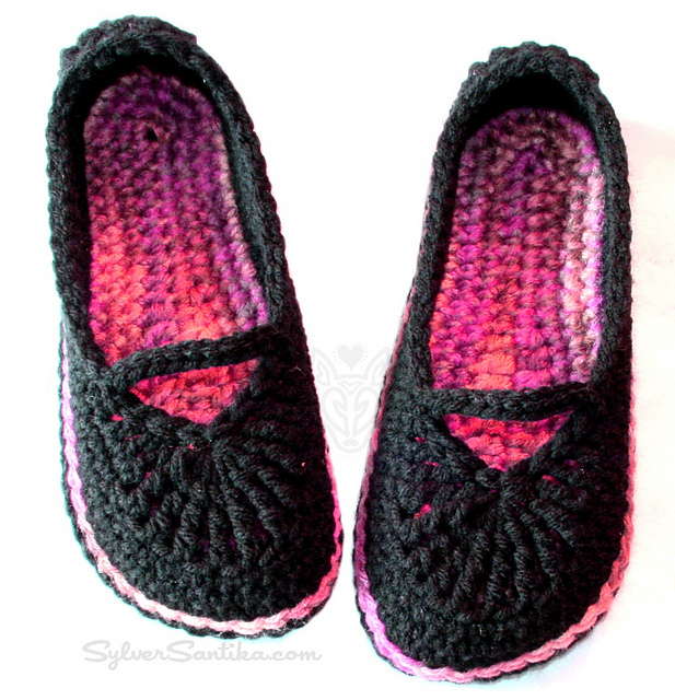 Women's Mary Jane Skimmers pattern by