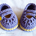 baby 2 Strap Mary Janes pattern
