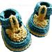 Baby Sandal Booties pattern