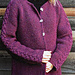 Hand-To-Hand Cardigan, Adult pattern