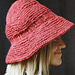 Brimmed Hat - Horizontal pattern