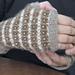 Clouds of Luxury Fingerless Gloves pattern