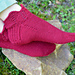 Arwen Slipper Socks pattern