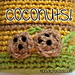 Tiny Coconut Applique pattern