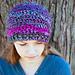 Luscious One Skein Crochet Hat pattern