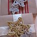 Glittery Crochet Stars in 2 Rounds pattern