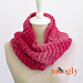 Top of the Tunisian Infinity Scarf pattern
