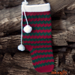 Happy Holidays Stocking pattern