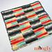 Basketweave Blocks Baby Blanket pattern