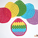 Easter Egg Granny Washcloth pattern