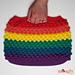 Rainbow Bobble Bag pattern