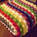 Blackberry Salad Striped Afghan pattern