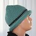 Numie Knitlook Hat pattern