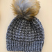 Mütze im Hebemaschenmuster pattern