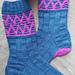 Kites In The Wind Socks pattern