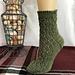 Lace Argyle Socks pattern