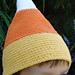 Candy Corn Crochet Hat pattern