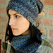 Grunge˚ster hat and cowl pattern